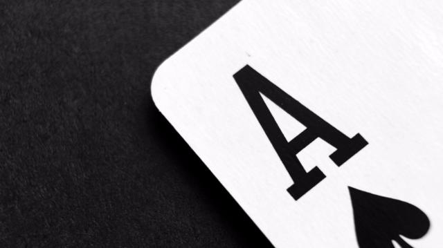 Ace of Clubs Playing Card